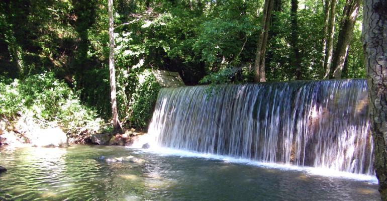 Cascate: San Fele, Caposele e le cascate del Sele